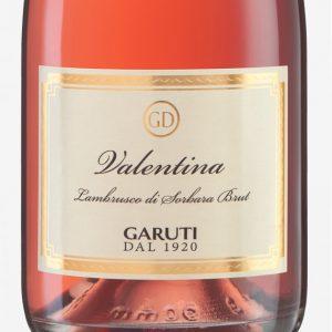 Valentina-rosato-spumante-brut-cantina-Garuti-etichetta